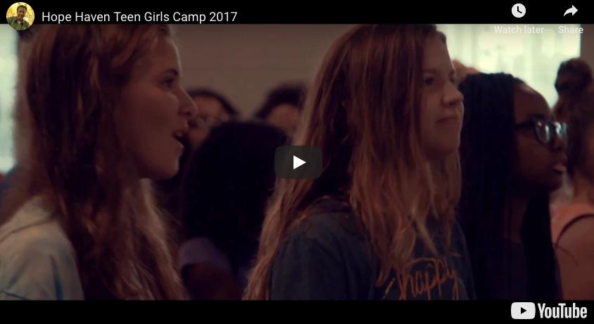 Hope Haven Teen Girls Camp 2017