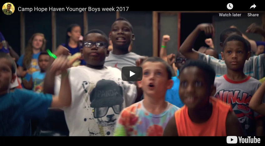 Camp Hope Haven Younger Boys week 2017
