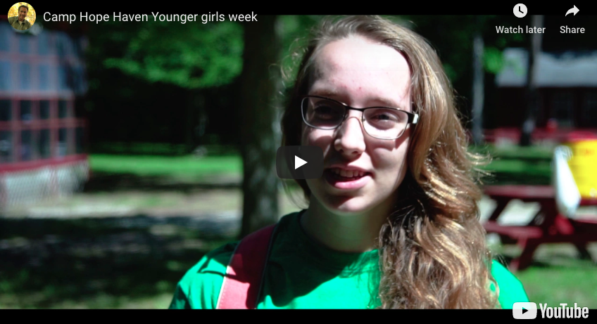 Camp Hope Haven Younger Girls Week